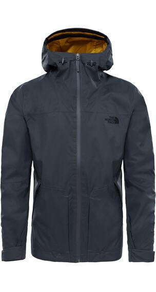 The North Face M's Frost Peak Waterproof Zip in Jacket Asphalt Grey